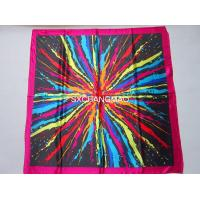 Buy cheap 80x80cm large square satin scarf from wholesalers