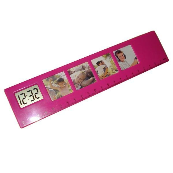 China Photo frame clock with ruler WT-S349B