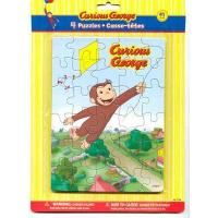 Quality Curious George Party Puzzle 4 Pack wholesale