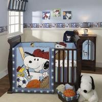 Buy cheap Lambs and Ivy Team Snoopy Nursery Bedding and Accessories from wholesalers