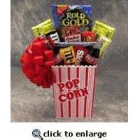 Quality Fun Candy, Popcorn and Movie Themed College Care Package wholesale