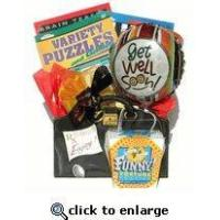 Quality low priced Get Well Gift Basket With Books for a guy or office co-worker wholesale