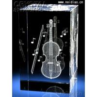Quality Cello-Square 3D Laser Crystal wholesale