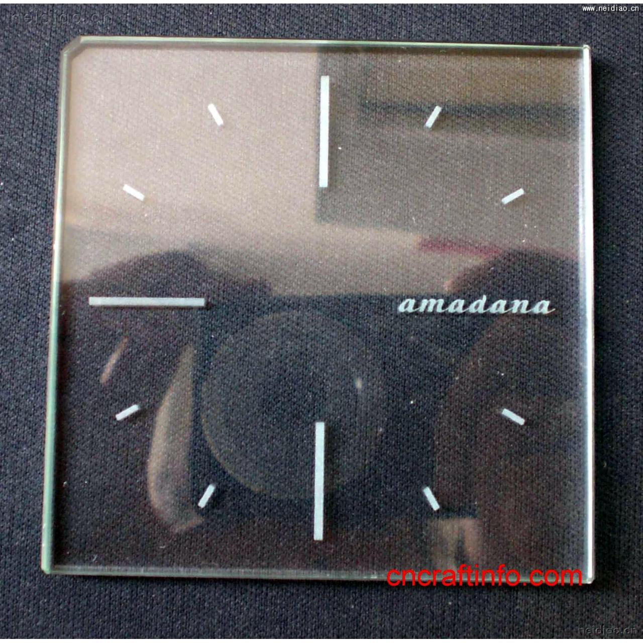 Quality Crystal Clock-Other appliances 3D Laser Crystal wholesale