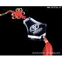Quality Vehicles hanging Toyota logo-Car ornaments 3D Laser Crystal wholesale