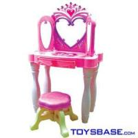 Quality Preschool Toys for Girls - Beauty Dresser Toy Set with Chair 212 wholesale