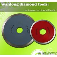 China continuous rim diamond blade-continuous cutting blade on sale