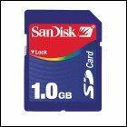 Quality Secure Digital SD Cards Sandisk 1GB Secure Digital SD Card wholesale