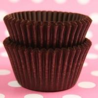 China Brown Cupcake Liners on sale