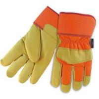 Quality Leather Working Gloves Cow Grain Thinsulate Winter Gloves wholesale