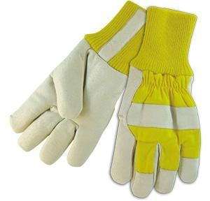 Cheap Leather Working Gloves Fleece Lining Winter Gloves for sale