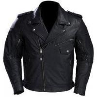 China Classic Cruiser Biker Leather Jacket on sale