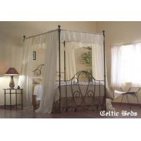 China Mulberry Canopy The Wrought Iron Bed Company - Celtic Beds - Mulberry on sale