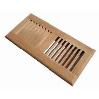 China iWoodVents 2 x 10 Inch Various Wood Species Self Rimming Floor Register Vent on sale