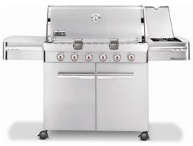 Cheap Summit S-620 6 Burner Stainless Steel Propane *2012* for sale