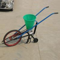 Buy cheap Manpower push seed fertilizer planter from wholesalers