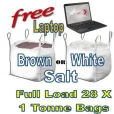 Cheap Offers with Free Gifts 28x 1 Tonne bags of Rock Salt with Free Gift for sale