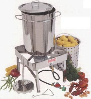 China All Stainless Steel Turkey Fryer Kit