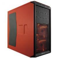 Buy cheap Corsair graphite 230t mid-tower case (rebel orange) with window from wholesalers