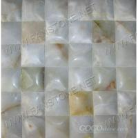 white onyx mosaic/Big Concave series-18