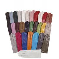 China Women's Italian Silk Lined Leather Gloves on sale
