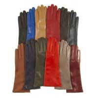 China Italian 4 Button Length Cashmere Lined Leather Gloves on sale
