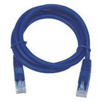 UTP / FTP / SFTP CAT5E Patch Cable In Blue Color Jacket 2M Lead