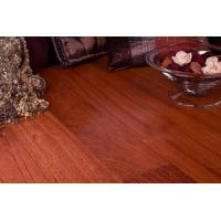China Brazilian Cherry Jatoba Prefinished Hardwood Flooring on sale