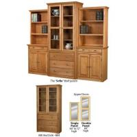 Quality Bookcase with Drawers and Glass Doors wholesale