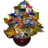 Quality Gourmet Gold Candy Bouquet wholesale