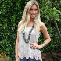 Quality K574 Sexy Unique Embroidered Boho Hippy Camisole Top wholesale