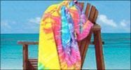 Quality EMBROIDERED 30x60 Terry Velour tie dye beach towels,11.5 lbs per dz wholesale