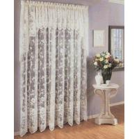 China Floral Vine Lace Curtains on sale