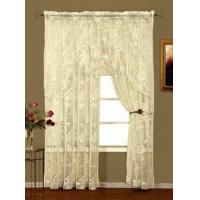 China Abbey Rose Lace Curtain Panel on sale