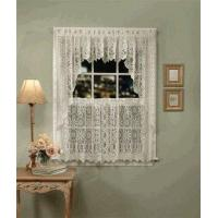 China Hopewell Lace Kitchen Curtains, Valance, and Swag on sale