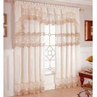 China Seville Macrame Sheer Curtain, by Lorraine Home Fashions on sale