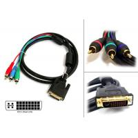 Quality Peripheral cable DVI/3RCA (24+5) M/M wholesale