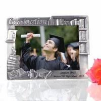 China Personalized Graduation Books Pewter Frame on sale
