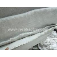 China high temperature insulation blanket double layer ceramic fiber cloth on sale