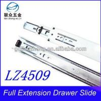 Quality 45MM 3-fold drawer slide guangdong High quality silence ball bearing drawer slide wholesale