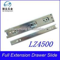 Quality 45MM 3-fold drawer slide 45mm heavy duty ferrari drawer slide hardware wholesale