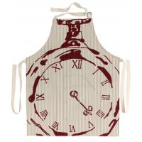 Quality Kitchen & Dining BECKY BROOME POCKET WATCH APRON BEIGE & RED wholesale