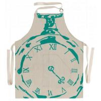 Quality Kitchen & Dining BECKY BROOME POCKET WATCH APRON BEIGE & TURQUOISE wholesale