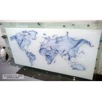 Quality Painted Splashbacks, Kitchen and Bathroom Work Surfaces, and Digital Printing on Glass wholesale