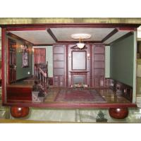 China Custom Dollhouse Renovations Custom Library roombox on sale
