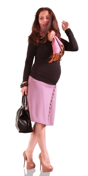 Cheap Maternity Skirt Work Day Wear Shakira for sale