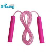 Fancy kids rope skipping with High Quality rubber Jump Rope(Model C)