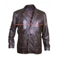 Quality Fast and Furious 7 Jason Statham Leather Jacket wholesale