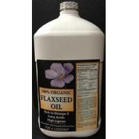 Quality Organic Flax Seed Oil 1 Gal. Cold Pressed wholesale