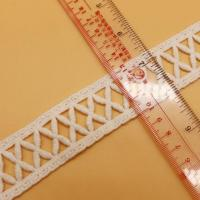 Quality good quality lace in 3cm design cotton water soluble lace in white lace design wholesale